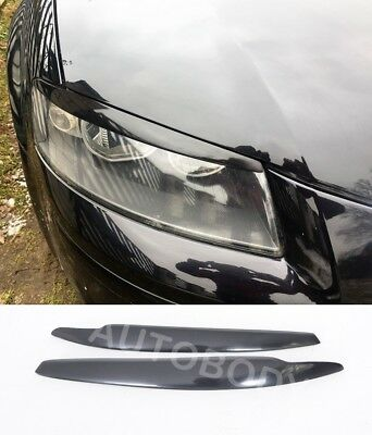 AUDI A3 8P 8PA 2003-2008  Headlight Eyebrows Eyelids Covers