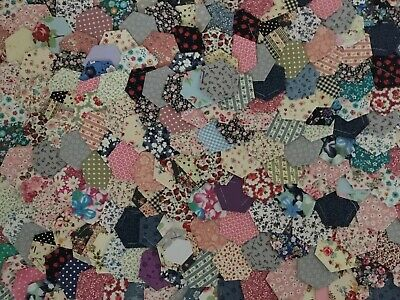 New Ready Tacked Patchwork Hexagons X 400 Inc Rose  & Hubble&cath Kidston Ikea