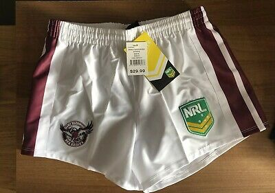 Manly Sea Eagles NRL supporters Shorts