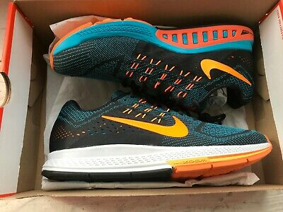 USED NIKE AIR Max 2016 Mens Blue orange Clear Running Shoes