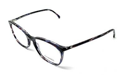 32d076b56cf NEW CHANEL 3281 1491 Violet Eyeglasses Authentic Frame Italy 54-17 ...
