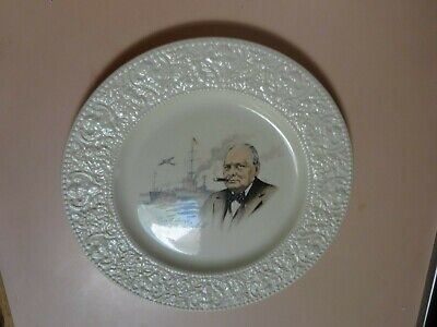 BCM NELSON WARE Pottery.Winston Churchill plate from 1940 s