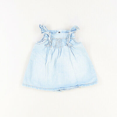 Blusa color Denim claro marca Tex 6 Meses  526347