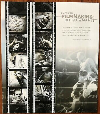 US #3772 American Film Making 37 cent,  Sheet of 20 Stamps  MNH   Issued 2003