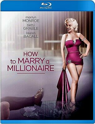 NEW BLU-RAY - HOW TO MARRY A MILLIONAIRE - Marilyn Monroe, Betty Grable, REMASTE