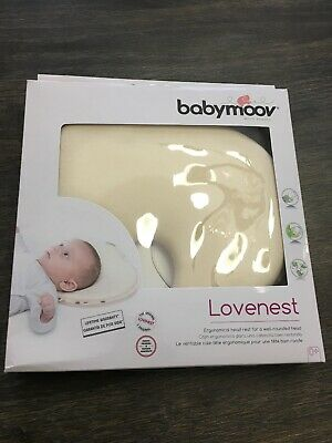 Babymoov Lovenest Ergonomical Baby Pillow for a well-rounded head