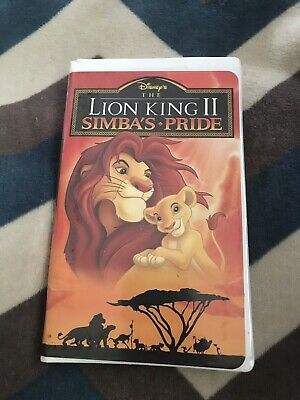 The Lion King 2 Simbas Pride vhs FREE SHIPPING