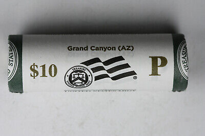 2010 P Grand Canyon America The Beautiful Quarter roll original mint wrapped