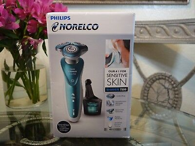 Philips Norelco 7500 Wet & Dry Men's Rechargeable Electric Shaver S7371/84