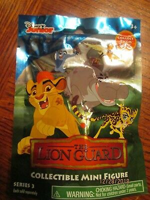 NEW Disney Lion King Guard Blind Bag Collectible Mini Figure Toy Series 3 ONO