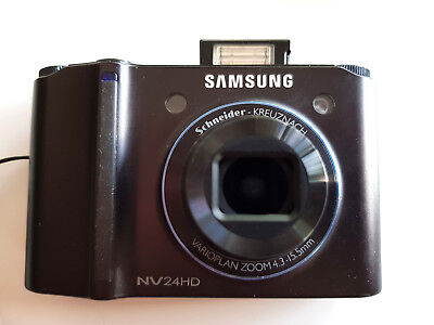 Samsung NV24HD 10mpix, 24-85mm equiv zom f2.8 max aperture, in box OVP