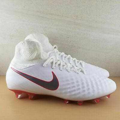 d2f842be5 Nike Magista Obra 2 Pro DF FG Soccer Cleats White Metallic AH7308-107 Multi