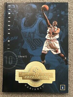 1998-99 SPx Finite Radiance Tim Hardaway #208 Parallel Basketball Cards Mint