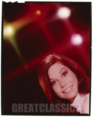 Mary Tyler Moore 1965 Dick Van Dyke Show Lovely Vintage 4X5 Color Transparency