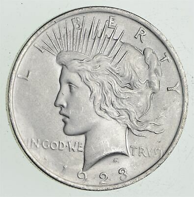 Early - 1923 - Peace Silver Dollar - 90% US Coin *692