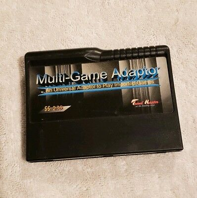Mult-game Adapter Sega Saturn Tested and Working