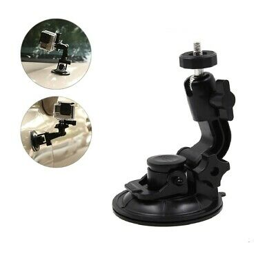 TELESIN Car 9.5cm Suction Cup Mount 1/4 Tripod for GoPro Hero 7 6 5 4 3+ 3 2