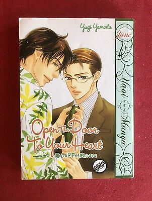 Open the Door to Your Heart, Yugi Yamada, Yaoi English Manga (OOP/Rare) M+