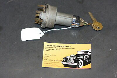 1958 Chevrolet Ignition Switch Genuine Delco Remy
