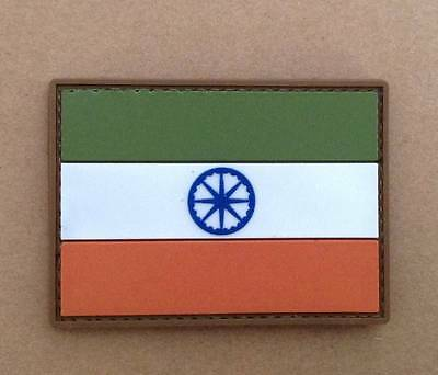 Indian Flag Airsoft PVC Patch