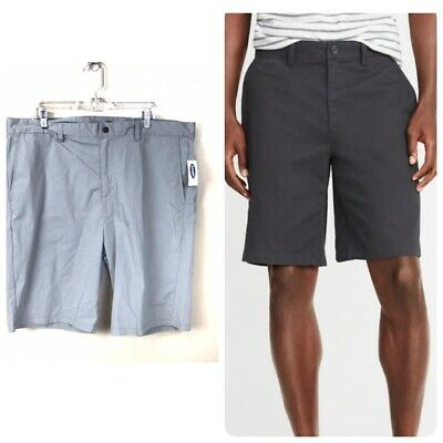 1fe52c5df99 Nwt New With Tags Men s Old Navy Gray Slim Ultimate Built-In Flex Shorts 40