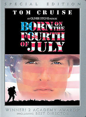Born on the Fourth of July DVD ~ Tom Cruise ~ R1 Widescreen New & Factory Sealed