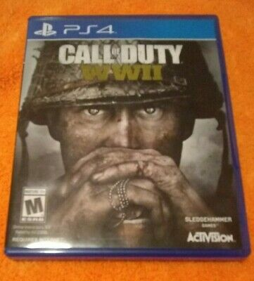 Call of Duty WWII PS4 Playstation 4 -- Free Shipping!!