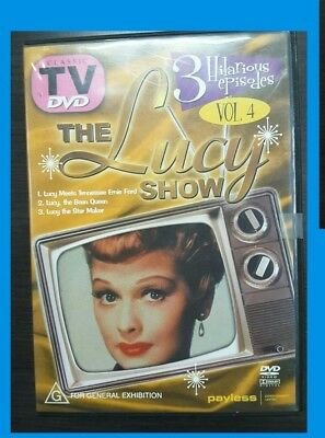 Dvd - The Lucy Show Vol. 4 - Lucille Ball -   tv show comedy classic