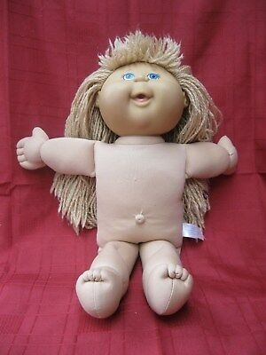 CABBAGE PATCH PLAYALONG   2004 CLOTH & VINYL 42cm doll  - no clothes