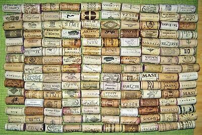 150 Natural Used Wine Corks — Free US Shipping — No Synthetic, No Champagne