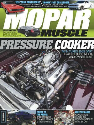 MOPAR Muscle Magazine June 2019 New With Barcode No Address Label