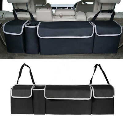 High Capacity Oxford Car Seat Back Organizer For Interior Accessories Multi-Use