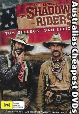 The Shadow Riders DVD NEW, FREE POSTAGE WITHIN AUSTRALIA REGION ALL