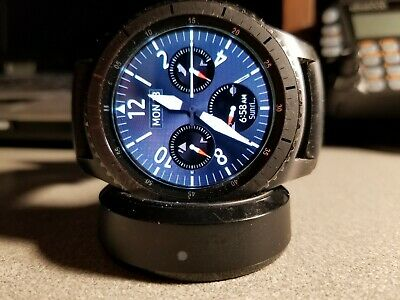 Samsung Gear S3 Frontier Smartwatch SM-R760 46mm Bluetooth/WIFI Read Description