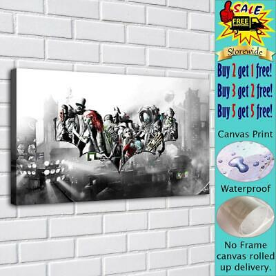 """batman posters HD Canvas Print Painting Home Decor room Wall Art Picture 16""""x28"""""""