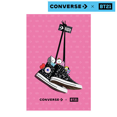 BTS BT21 Official Authentic CONVERSE Chuck Taylor All star High Cut Limited Ver