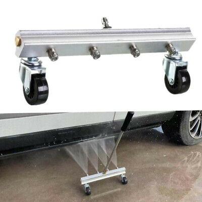 Car Under  Body Chassis Washer High Pressure 4 Spray Nozzle Water Cleaning Parts