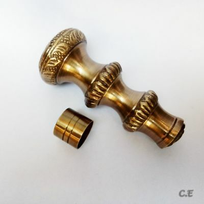 Solid Brass Designer Handle Victorian Vintage For Wooden Walking Stick/ Cane