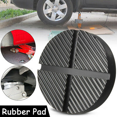 Car Cross Slotted Frame Rail Floor Jack Rubber Pad Adapter For Pinch Weld
