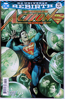 Action Comics #969 Rebirth Variant Cover - DC Comics - Dan Jurgens Pat Zircher