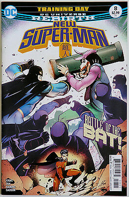 New Super-Man #8 Rebirth DC Comics Gene Luen Yang Billy Tan