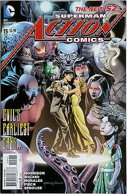 Action Comics Superman 15 New 52 DC Comics Grant Morrison Rags Morales B Walker