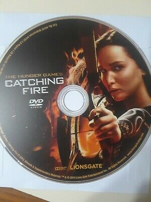 The Hunger Games: Catching Fire DVD (disc only)