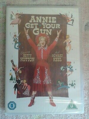 """NEW Betty Hutton """"Annie get your gun"""" dvd (1950) Director of: Half a Sixpence."""