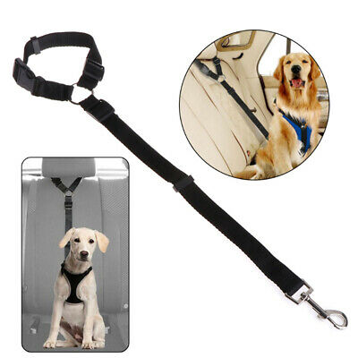Adjustable Seat Belt Dog Harness Car Seat Belt Pet Safety Leash Lead For Dog Cat
