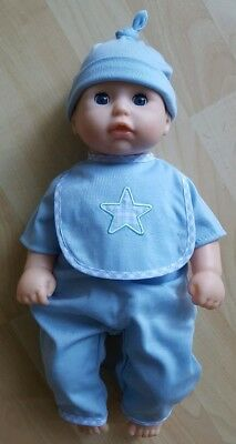 My First Baby Annabell / Brother/ Boy 14-16 inch doll Blue Sleepsuit & Hat Set