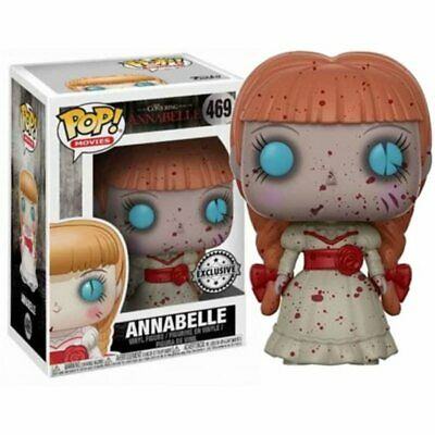 Funko Pop! - Annabelle Bloody Exclusive Figura 10cm - Producto Oficial