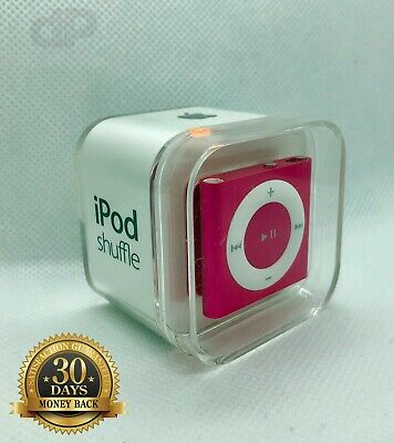 Apple iPod Shuffle 4th Generation 2gb - PINK Brand New SEALD