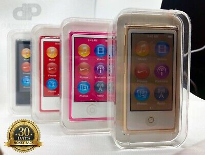 Apple iPod Nano 16GB 7th Generation Brand NEW SEALED RED PRODUCT BLUETOOTH