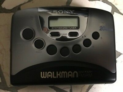 WALKMAN SONY WM FX251 RADIO AM/FM con CUSTODIA walk-man cassette